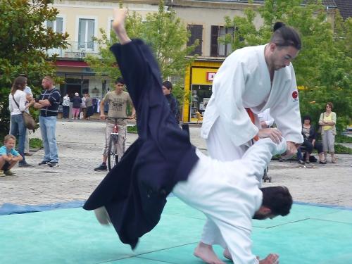 aikido,commentry,braderie 2015,désertines,montluçon asptt,st eloy les mines