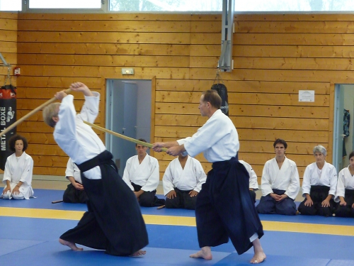 aikido,commentry,michel laurent