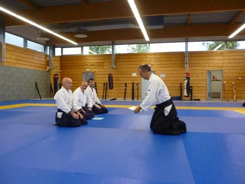 aikido,commentry,ffaaa,ligue auvergne,préparation grades,séminaire enseignants