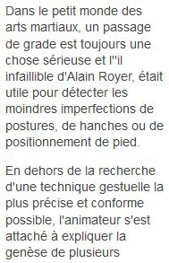 aikido, commentry, ffaaa, alain royer, thomas gavory, la montagne