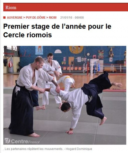 aikido,commentry,ufolep,ffaaa,michel laurent